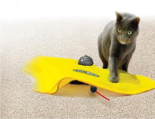Juguete del gato, divertido trabajo Ratón encubierto electrónico para gatos de todas las edades, ejercicio divertido, sus gatos no pueden resistir