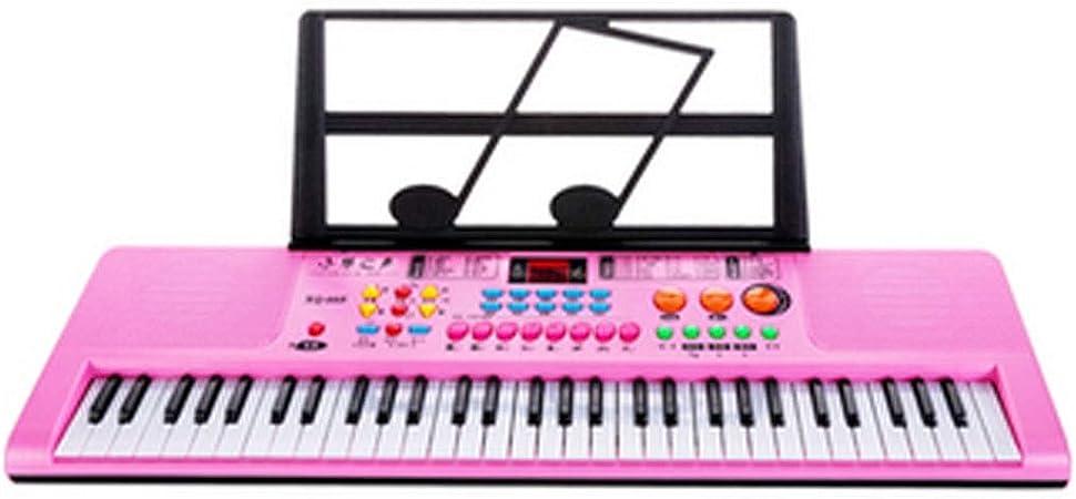 XIONGHAIZI Teclado electrónico, piano electrónico para niños ...