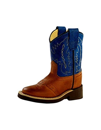 3e0bda13ada Amazon.com | Old West Toddler-Boys' Crepe Sole Cowboy Boot Square ...