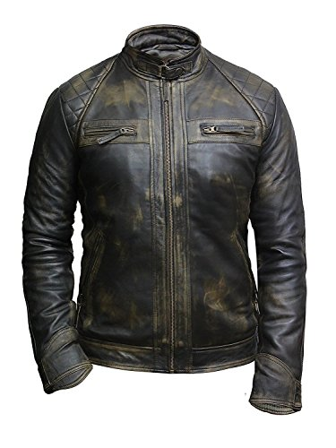 Mens Leather Motorcycle Jackets Sale - 7