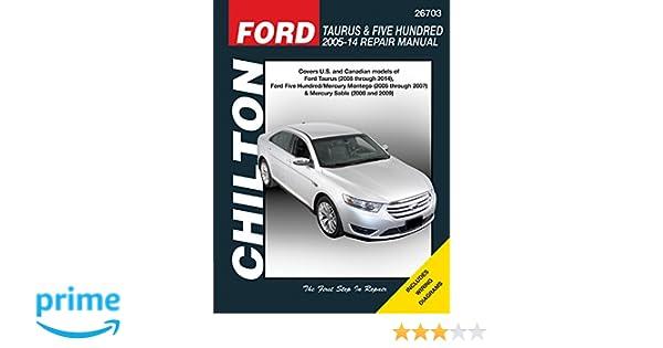 2008 ford taurus x service manual pdf
