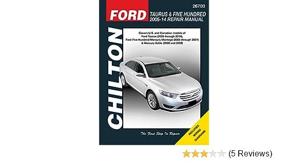 2005 Ford Five Hundred Haynes Online Repair Manual-Select Access