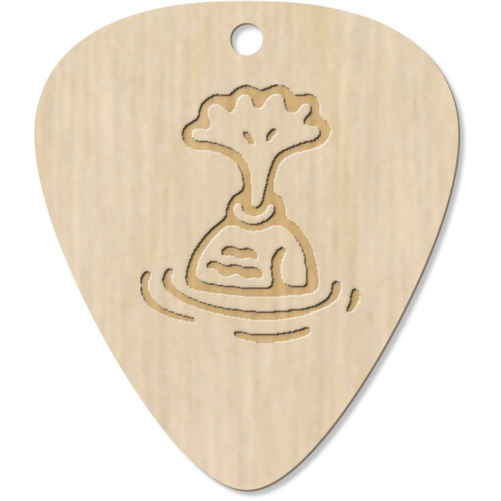 Azeeda 7 x Lindo Pez Guitarra Púa (GP00015671): Amazon.es ...