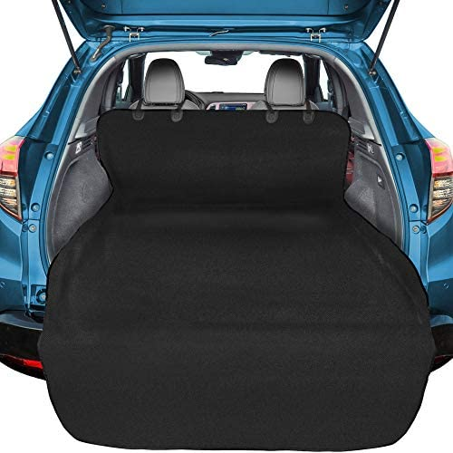 Veckle Cargo Liner, SUV Cargo Cover for Dogs Waterproof Dog Seat Cover Cargo Area Protector Scratchproof for SUVs Sedans Vans