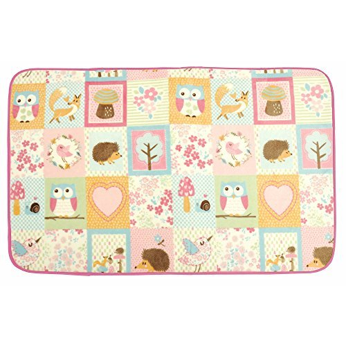 "Extremely Soft Mainstays Kids Woodland Friend Rug for Kids Playroom or Bedroom, 30"" x 46"""