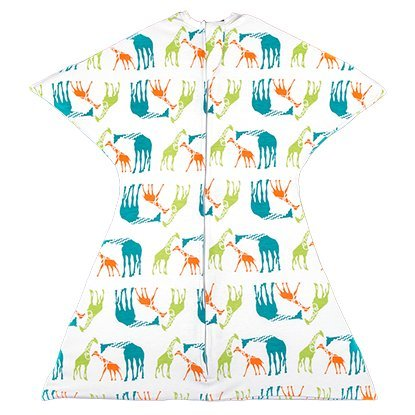 Zipadee-Zip (MEDIUM 6-12 Months ( 19-26lbs upto 32 inches), Giraffe Jungle)