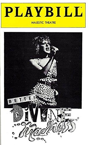 "BETTE MIDLER Broadway ""DIVINE MADNESS"" Linda Hart / Bruce Vilanch 1980 Playbill"