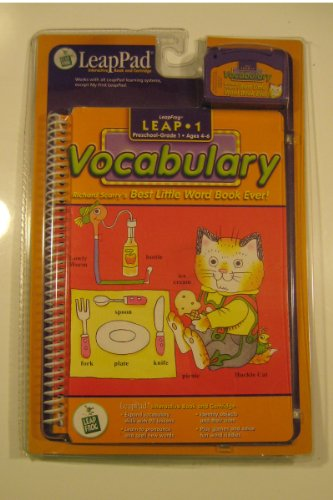 """LeapPad: 1 Vocabulary - Little Ever"""" Interactive Book and Cartridge"""
