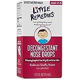 Amazon Com Little Remedies Decongestant Nose Drops Ages