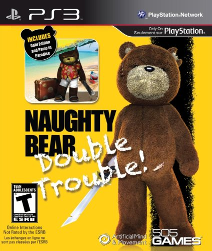 Price comparison product image Naughty Bear - Double Trouble - Playstation 3