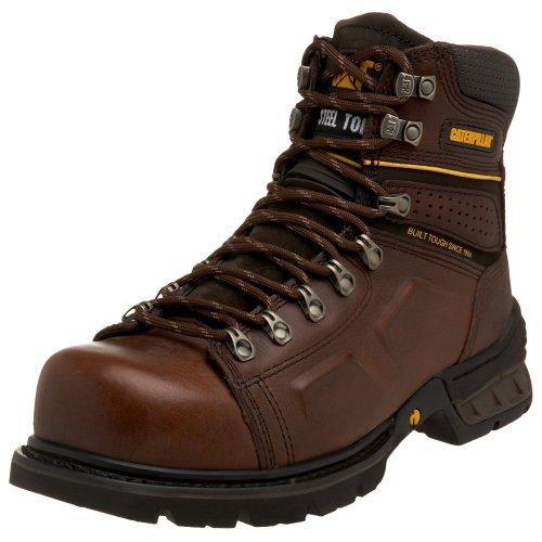 Caterpillar Endure Steel Toe - Men's Work Boot - Oak