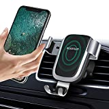 Wireless Car Charger, Steanum QI Gravity Car Mount Air Vent Phone Holder, Fast Charging Compatible with Galaxy S9 S8 S7/S7 Edge, Note 5, Standard Charge for iPhone XS/XS MAX/XR/X , 8/8 Plus and Qi Enabled Devices