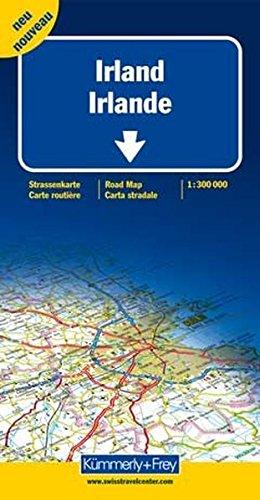 Straßenkarte Irland 1:300 000 (Kümmerly+Frey Strassenkarten)