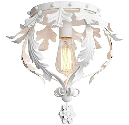 Araña Elegante diseño Fino redondo Lámpara de techo de 1 luz ...
