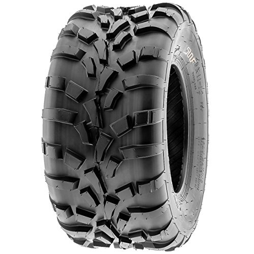 SunF 25x11-10 (25x11x10) ATV/UTV Off-Road Tire, 6PR, Directional Knobby Tread | A010 by SunF (Image #8)