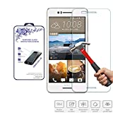 for HTC Desire 728 Tempered Glass,Nacodex 9H Hardness Premium Tempered Glass Screen Protector Real Explosion-Proof 0.3mm 2.5D (for HTC Desire 728)