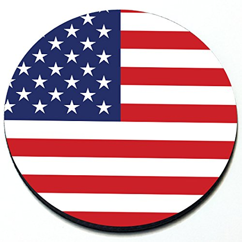 US Flag - Magnetic Grill Badge For MINI Cooper