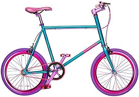 Mixie Straight Edge - Bicicleta BMX Freestyle, Color Aguamarina, Talla M: Amazon.es: Deportes y aire libre