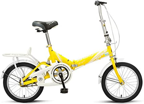 ADOSB Bicicleta Plegable - Personalidad Simple Creativa Bicicleta ...