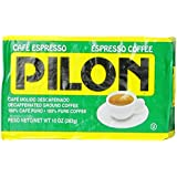 Pilon Decaffeinated Espresso Coffee, 10 Ounce (Pack of 12)