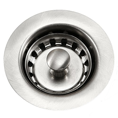 Houzer 190-4200 Bar Sink Basket Strainer for 2-Inch Drain (Basket Bar Sink Drain)