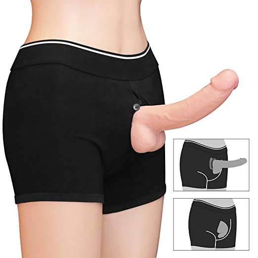 Unisex Strap on Harness Shorts for Sex for Couple