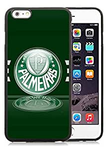 Custom Design Compelling Phone Cases For iPhone 6 PLUS TPU 5.5 inch With Palmeiras 4 Black