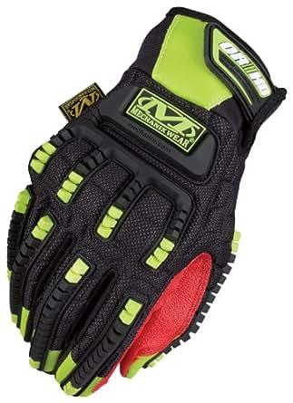 Mechanix Wear The Safety M - Pact ORHD Gloves, HI-VIS YELLOW, M