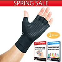 Compression Gloves Infused With Copper   Arthritis  ...