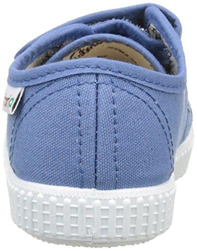 Victoria Basket Lona Dos Velcros - Zapatillas Unisex Niños Bleu (36 Azul)