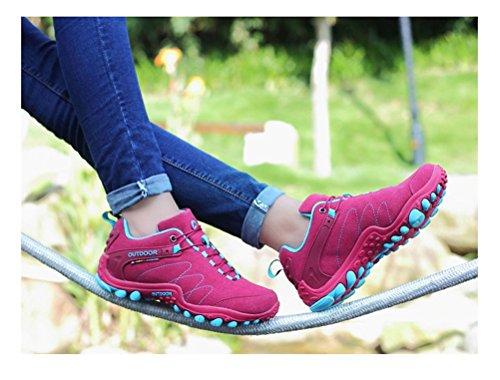 Siempre Pretty Mujeres / Hombres Senderismo Senderismo Zapatos Zapatos Casual Zapatillas Sneakers Rose