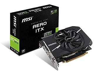 MSI Gaming GeForce GTX 1070 8GB GDDR5 SLI DirectX 12 VR Ready ITX Graphics Card (GTX 1070 AERO ITX 8G OC) (B06X1GZB5F) | Amazon price tracker / tracking, Amazon price history charts, Amazon price watches, Amazon price drop alerts