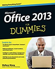 Office 2013 For Dummies is the key to your brand new Office! Packed with straightforward, friendly instruction, this update to one of the bestselling Office books of all time gets you thoroughly up to speed and helps you learn how to take ful...