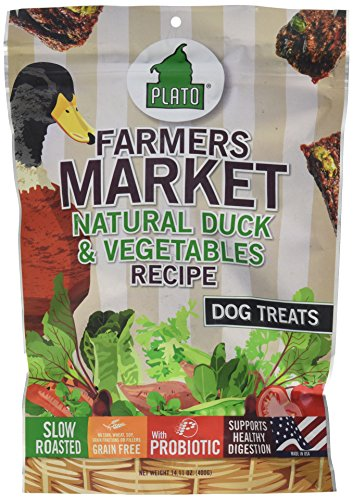 plato-farmers-market-natural-duck-and-vegetables-recipe-bag-dog-treats-14-ounce