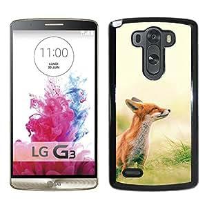 Fox Scenting Breeze Black New Customized Design LG G3 Case