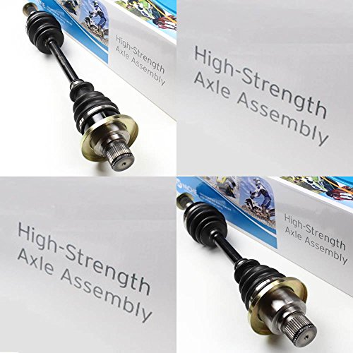 Niche Industries 1616 Yamaha Grizzly 660 High Strength Rear Left & Right CV Axles 2003-2008 by Niche Industries