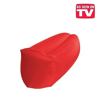 Colchoneta, puf hinchable, exclusivo sofá inflable con el ...