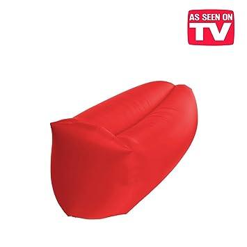 Colchoneta, puf hinchable, exclusivo sofá inflable con el viento ...