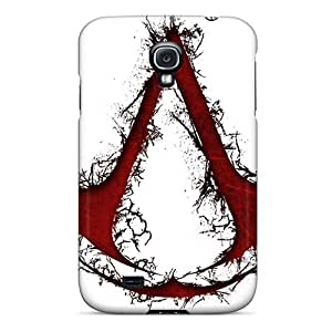 Durable Defender Case For Galaxy S4 Tpu Cover(assassins Creed)