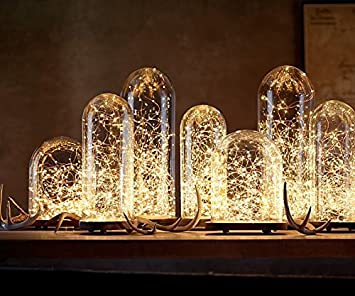 Amazon.com : Battery Fairy Lights for Mason Jars, Center Pieces ...