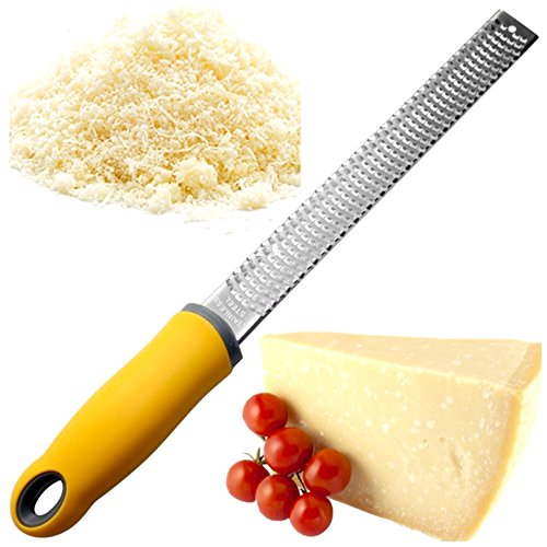 Easykan Kitchen Stainless Steel Vegetable Cutter Slicer Grater Lemon Fruit Peeler Zester Cheese Gadgets For The Spiralizer Cooking Tools by COFFLED (Image #7)