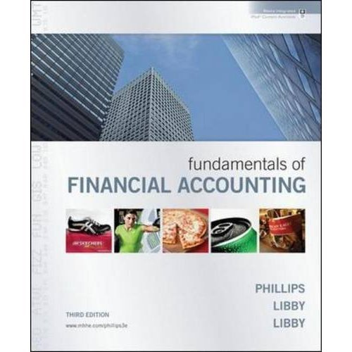 Fundamentals of Financial Accounting: 3rd (Third) edition