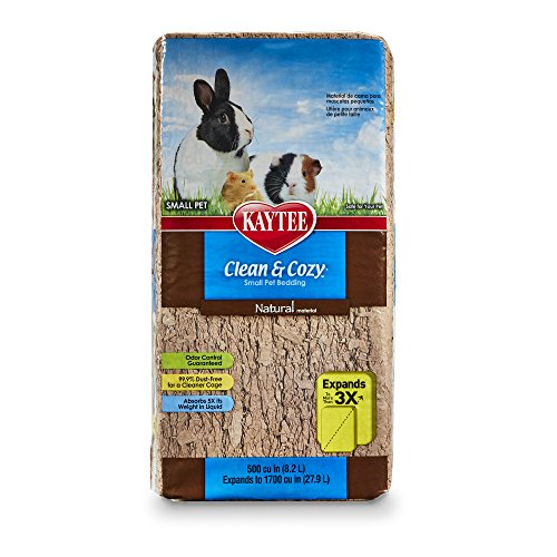 Kaytee Clean & Cozy Natural Bedding, 500 Cubic Inch