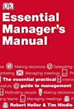 Essential Manager's Manual, Robert Heller and Tim Hindle, 0789435195