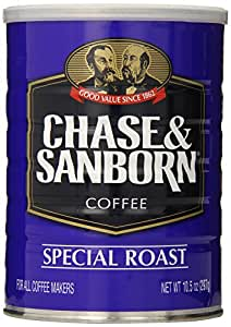 Chase & Sanborn Coffee, Special Roast Ground, 10.5 Ounce