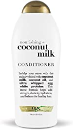 OGX Nourishing + Coconut Milk Moisturizing Conditioner for Strong & Healthy