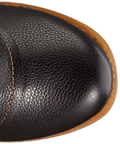 El Naturalista Nc47 Soft Grain/ Tricot - Stivali Corti Donna, Multicolore (BLACK-KAKI-GRAFITO NV5), taglia 39 EU