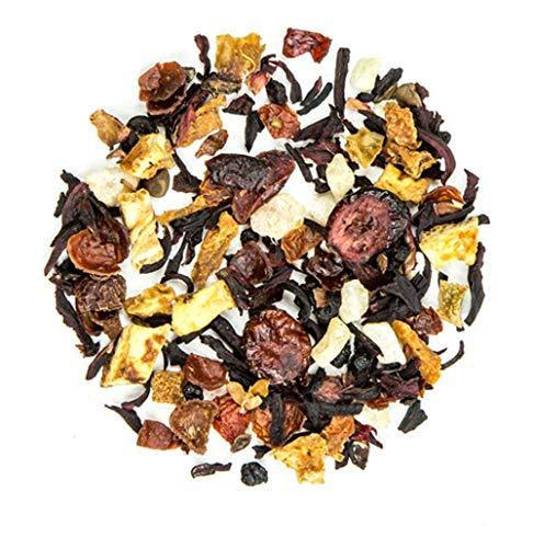 Holiday Cranberry Punch - Hello Kiddo – Fruit Tea Blend – Kids Tea – Caffeine –Free – Hot and Iced Tea – Loose Leaf Fruity Blend– 57g(2Oz) (2 Oz)