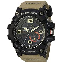 Casio G-Shock Master of G MUDMASTER  GG1000-1A5 Sand Beige Watch Twin Sensor Compass Thermometer