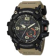 Men's 'G Shock' Quartz Resin Casual Watch, Color:Beige (Model: GG-1000-1A5CR)